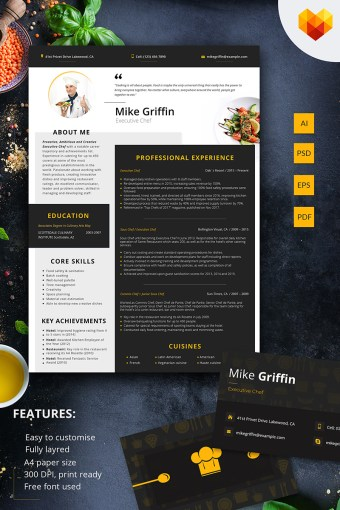 Chef Templates   TemplateMonster Mike Griffin   Executive Chef