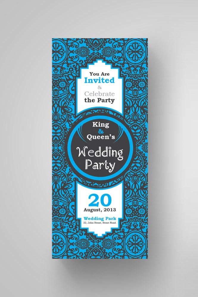 Fl Wedding Invitation Card Design Corporate Ideny Template