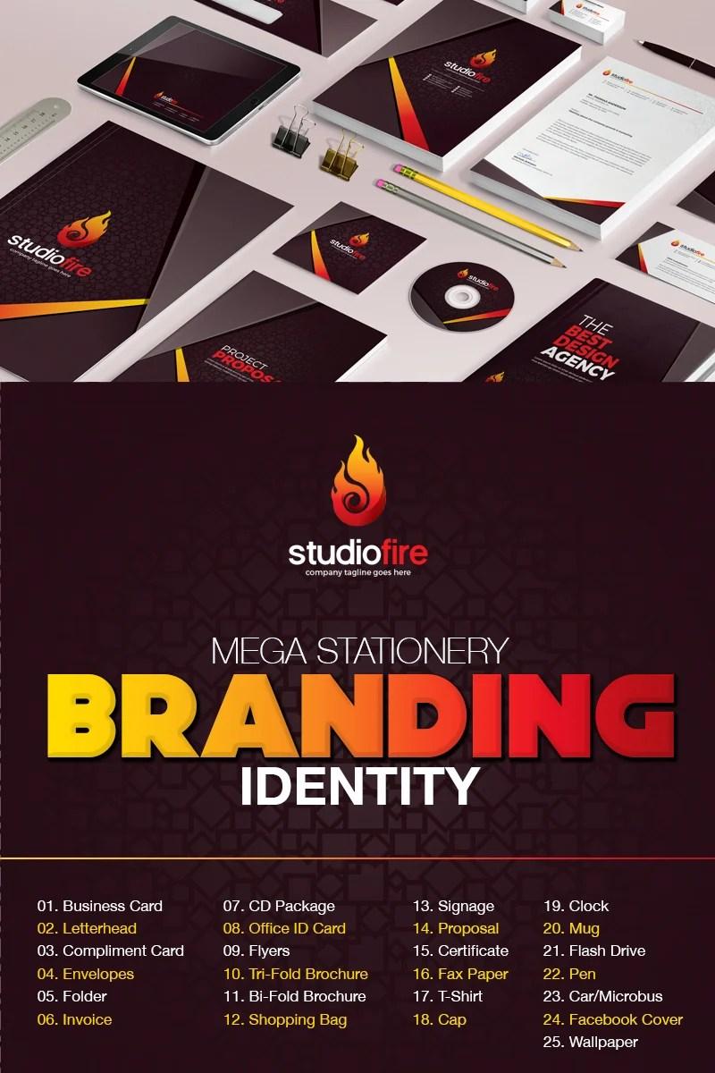 Branding Design Corporate Identity Template 67425
