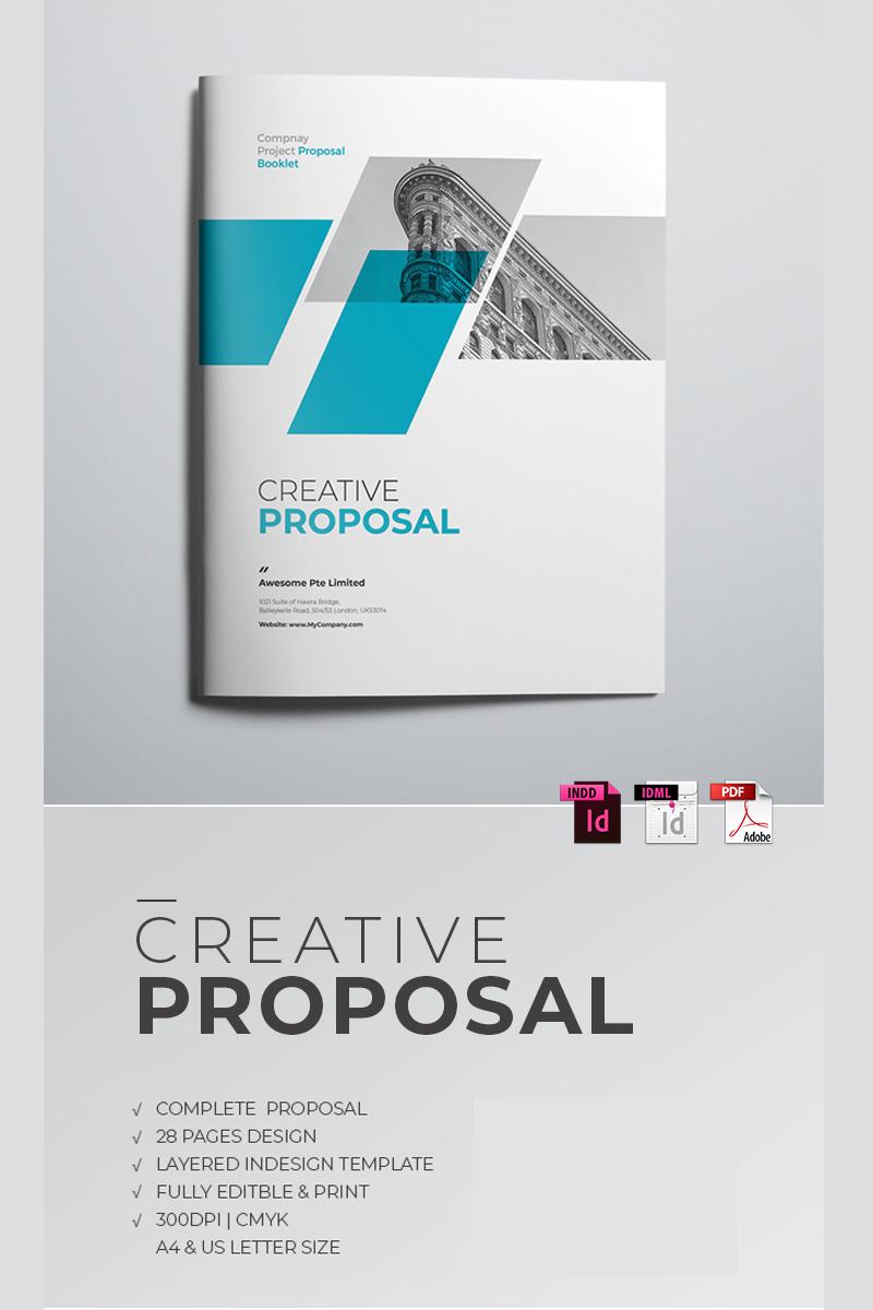Minimal Project Proposal Corporate Identity Template 68083