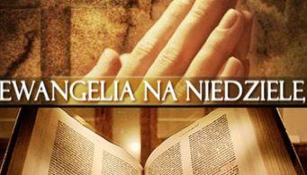 Znalezione obrazy dla zapytania ewangelia niedziela