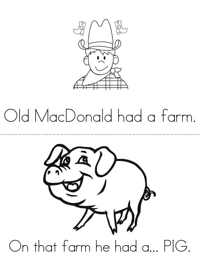 Old MacDonald Book Twisty Noodle