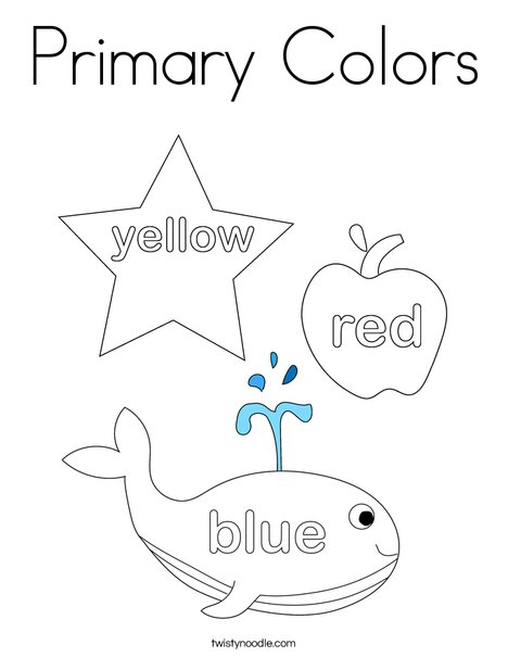color coloring pages # 4