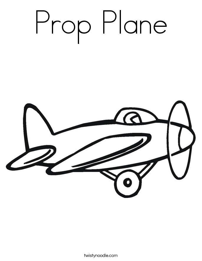 airplane coloring pages twisty noodle