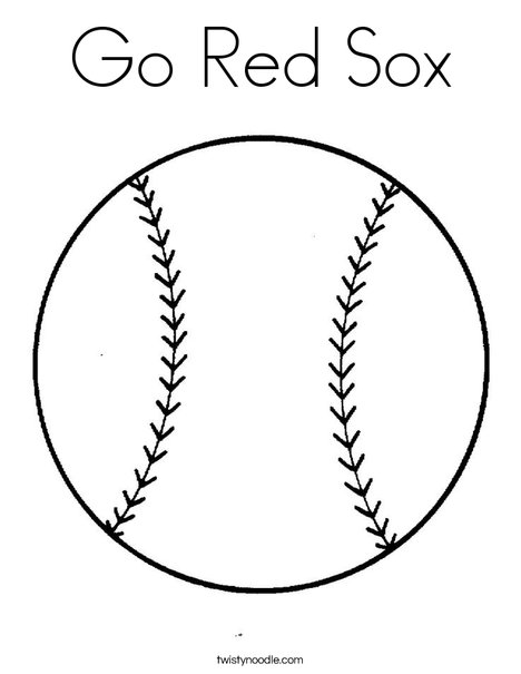 red sox coloring pages # 8