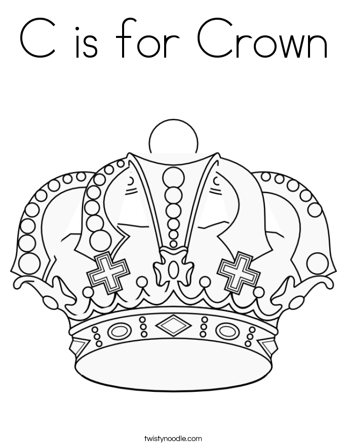 crowns and tiaras coloring pages twisty noodle