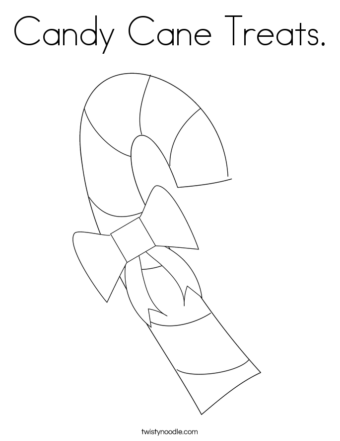 candy cane treats coloring page twisty noodle