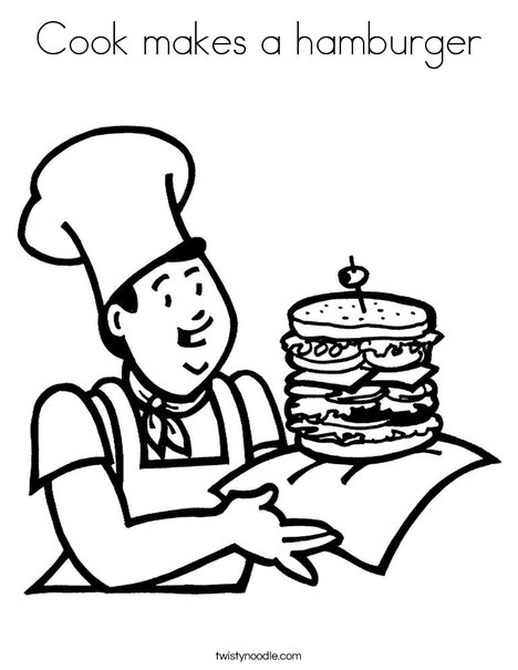 cooking coloring pages # 22