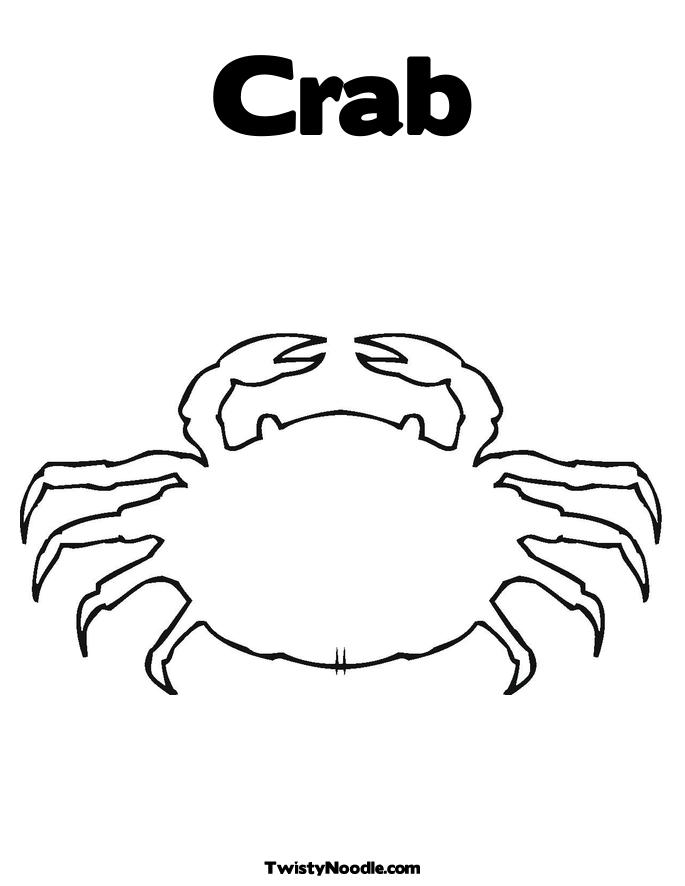 king crab coloring page king crab colouring pages page 2