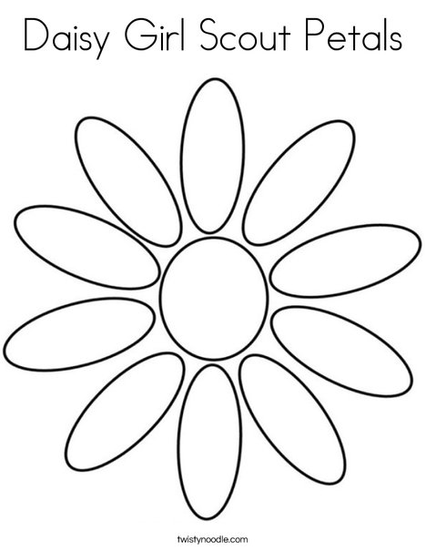 girl scout daisy coloring pages # 2