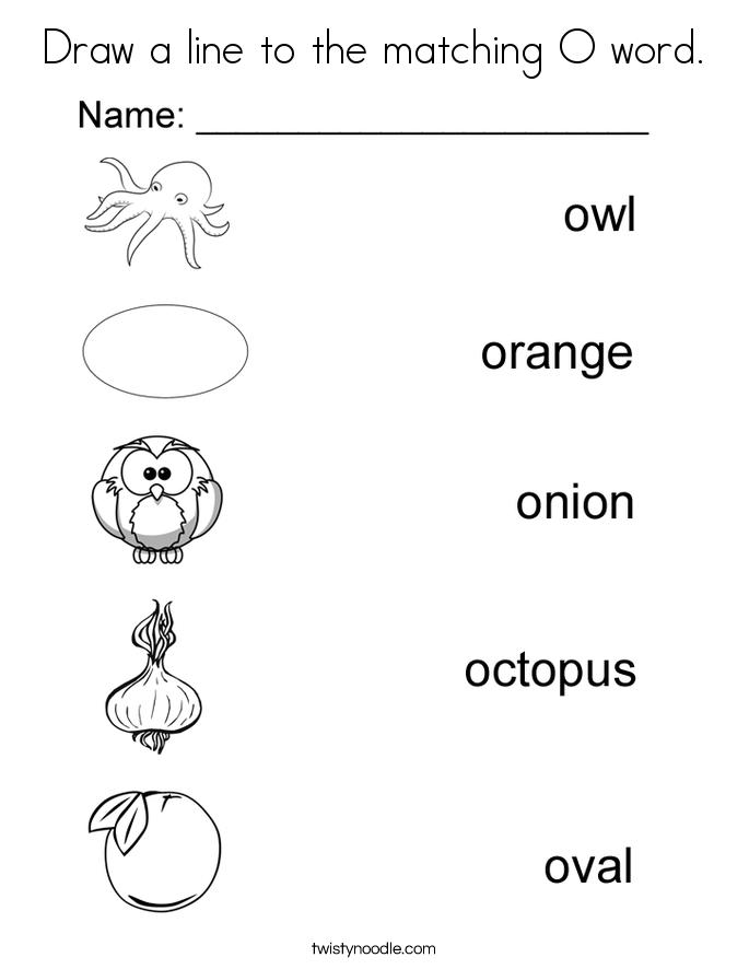 Animals Starts Letter O