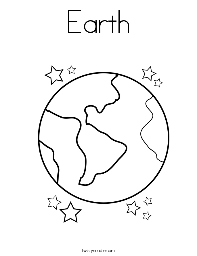earth day coloring pages twisty noodle