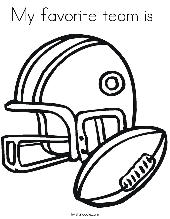 football coloring pages twisty noodle