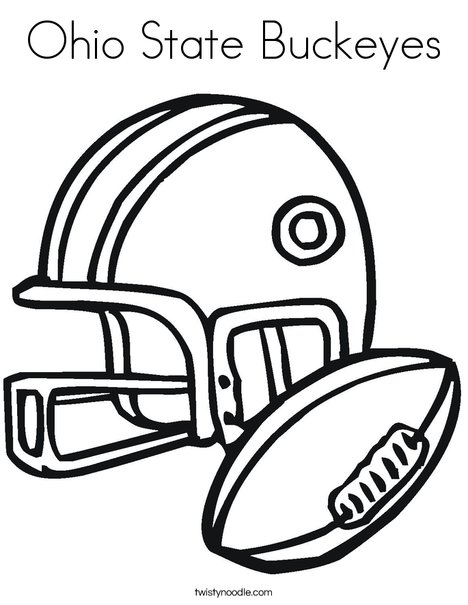 ohio state coloring pages # 3