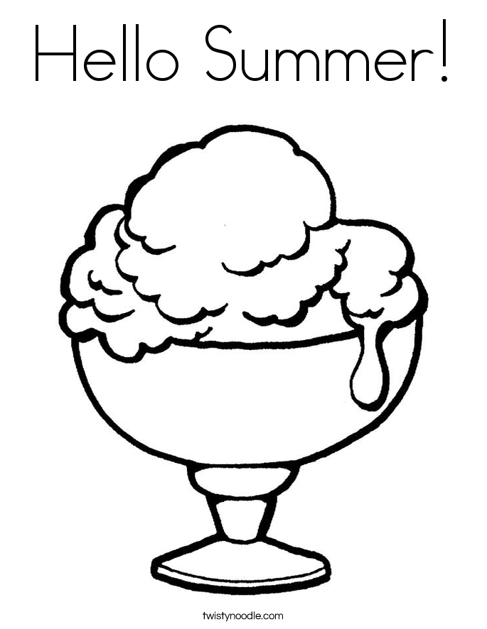 free summer coloring pages printable banana coloring page free