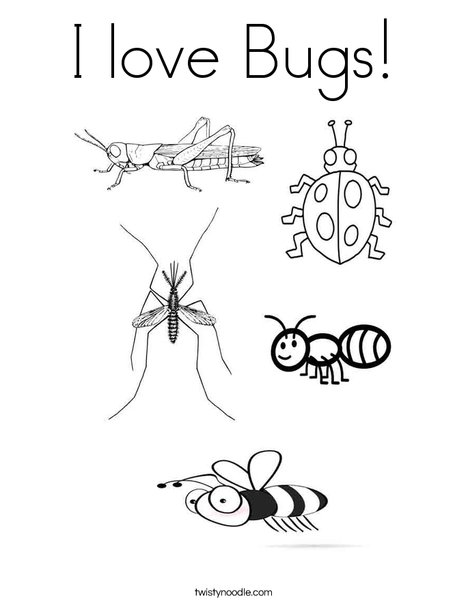 bug coloring page # 14