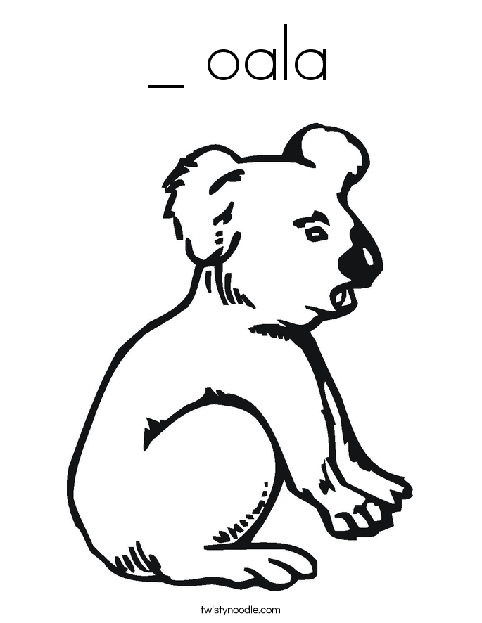 panda bears colouring pages