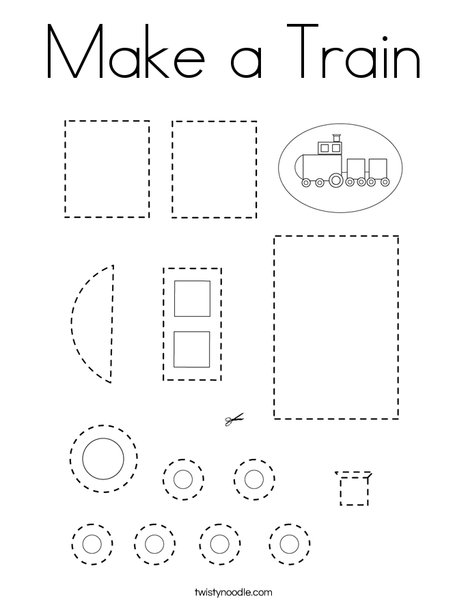 train coloring pages # 48