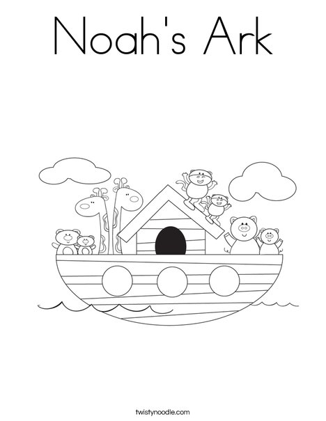 noah and the ark coloring pages # 9