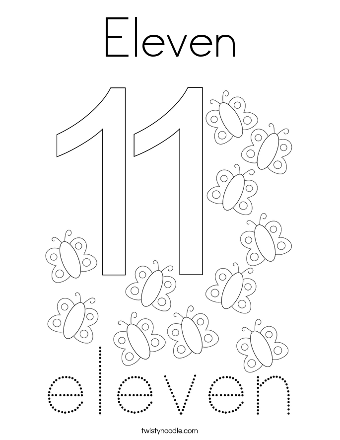 happy birthday pages also number eleven page in