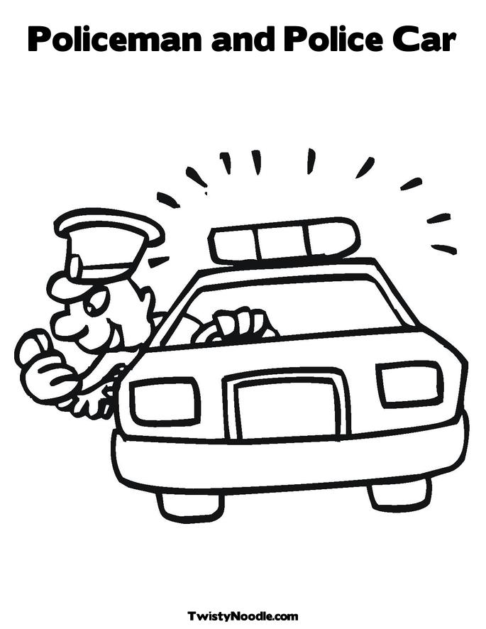 police hat coloring pages redpackardfront coloring pages