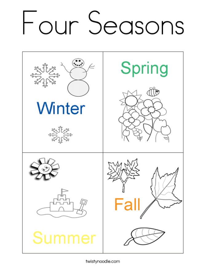 season coloring pages   Coloring Pages for Familly and Kids