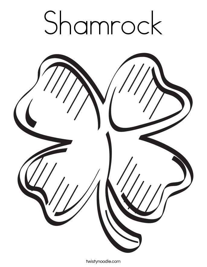 shamrocks coloring pages az coloring pages