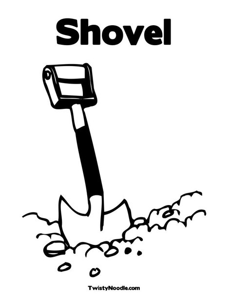 shovel and pail page hicoloringpages