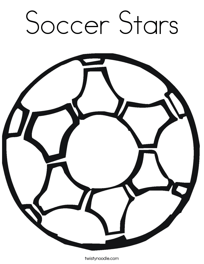 soccer stars coloring page twisty noodle