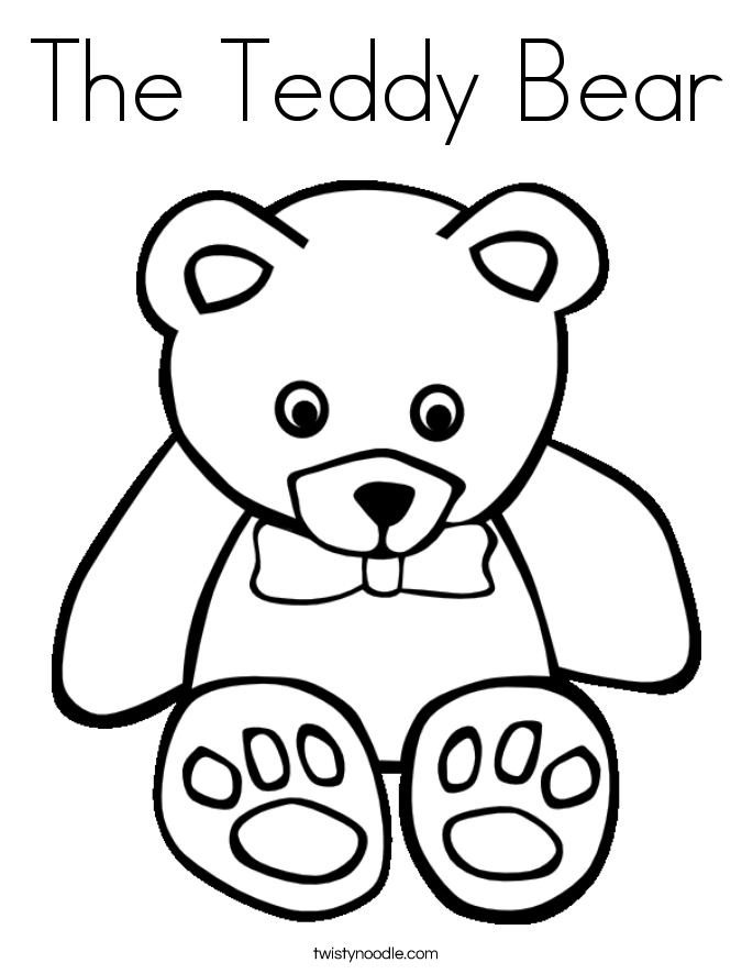 girl teddy bear coloring pages free bear color coloring print