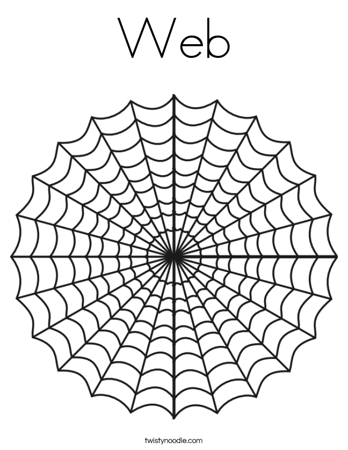 web coloring page twisty noodle