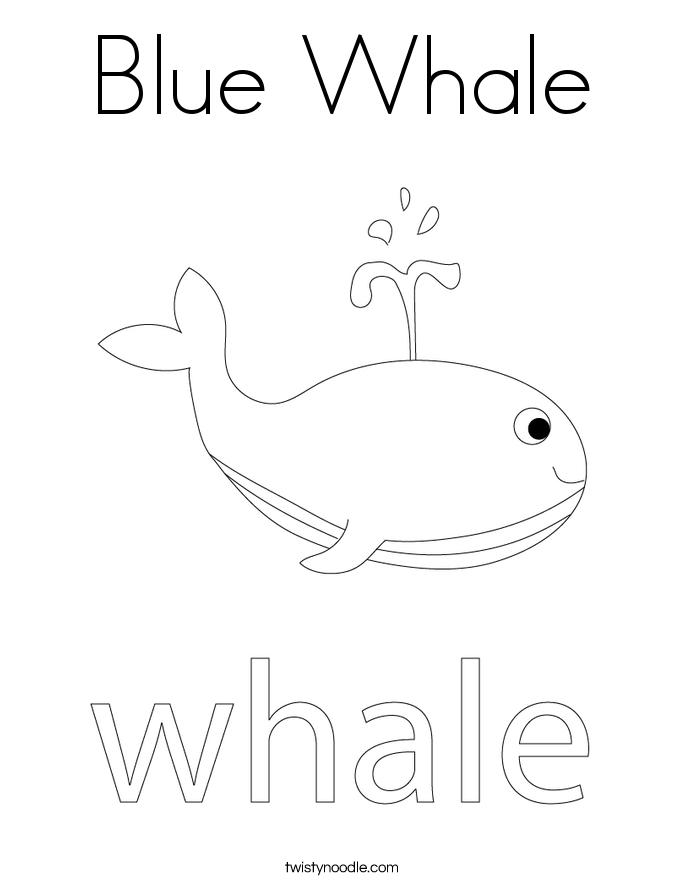 blue whale coloring page twisty noodle