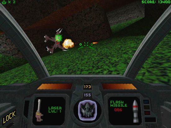 Descent PS1 ROM #7