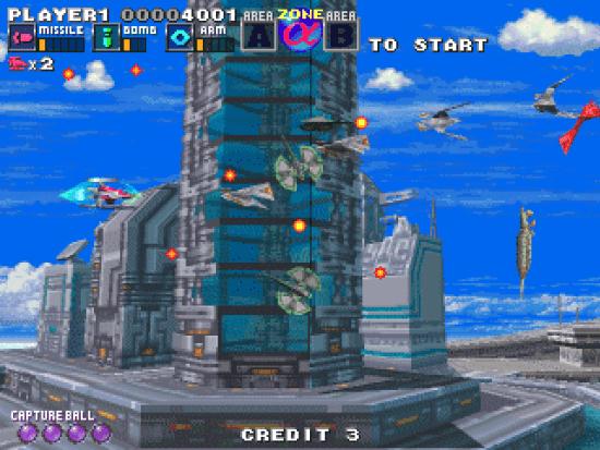G-Darius Ver.2 MAME Games P10