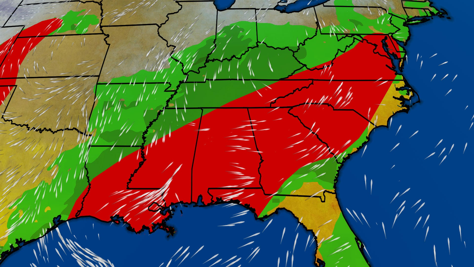 Severe Thunderstorms Heavy Rainfall Possible In Parts Of