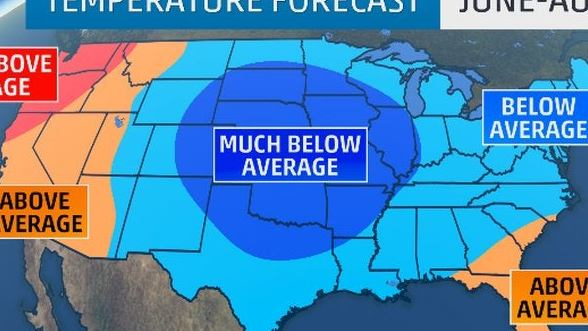 HD Decor Images » Summer 2015 Forecast  Much of U S  Could See Below Average     Summer 2015 Forecast  Much of U S  Could See Below Average Temperatures    The Weather Channel