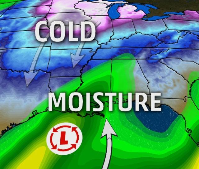 Snow Threat For Deep South This Weekend