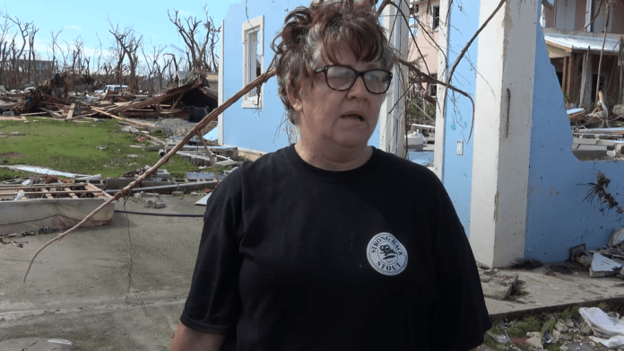 Marsh Harbour Woman Survives Dorian, Realizes She Lost Everything