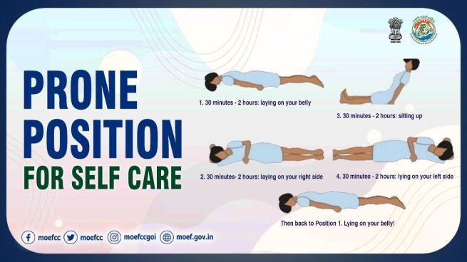 Self-care position (MoEF & CC (@moefcc) / Twitter)