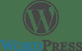 wordpress logo - blog