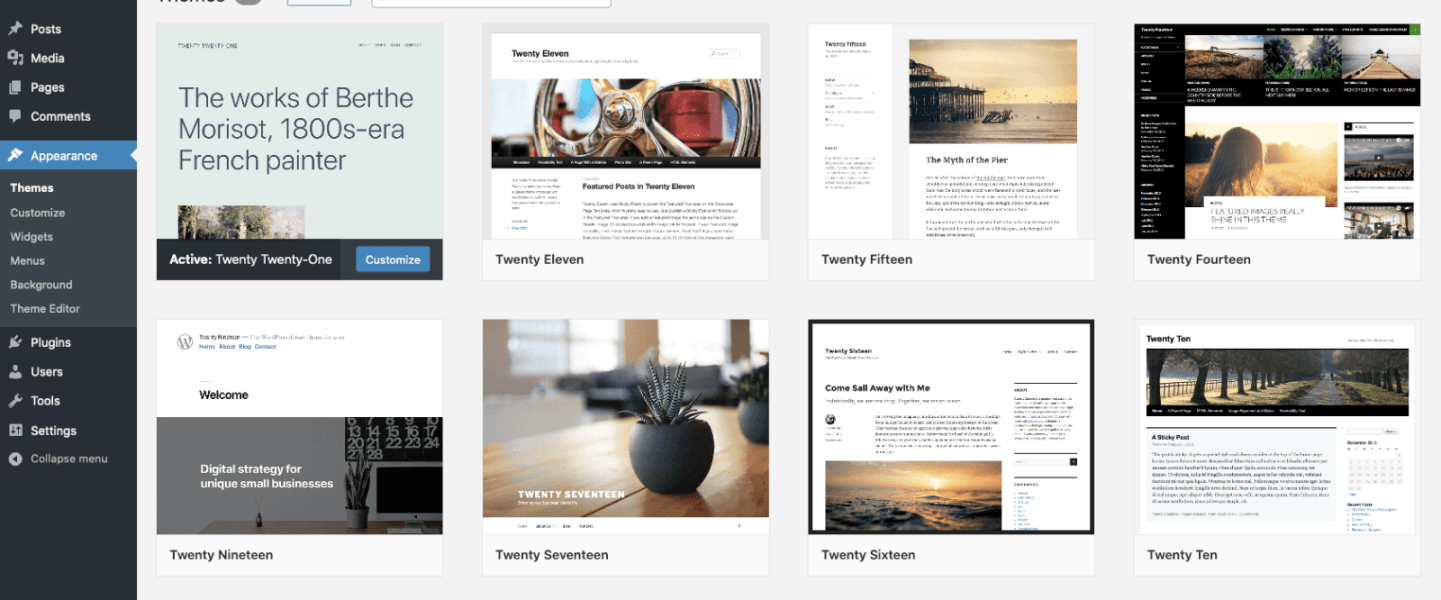 WordPress brings beautiful designs, powerful features, and freedom!
