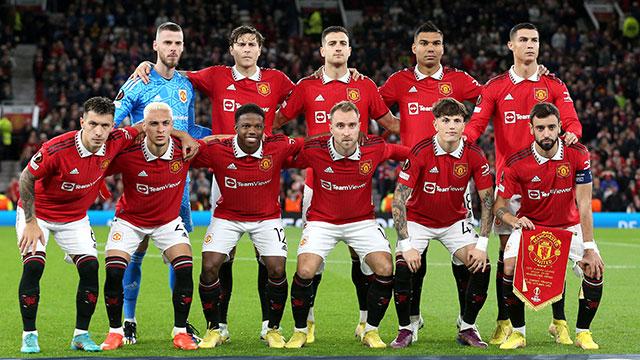 Resultado de imagen para foto del equipo de man united ultimo partido