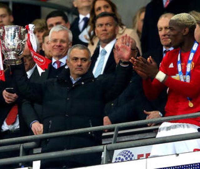Emotional Mourinho Hails Uniteds Wembley Glory