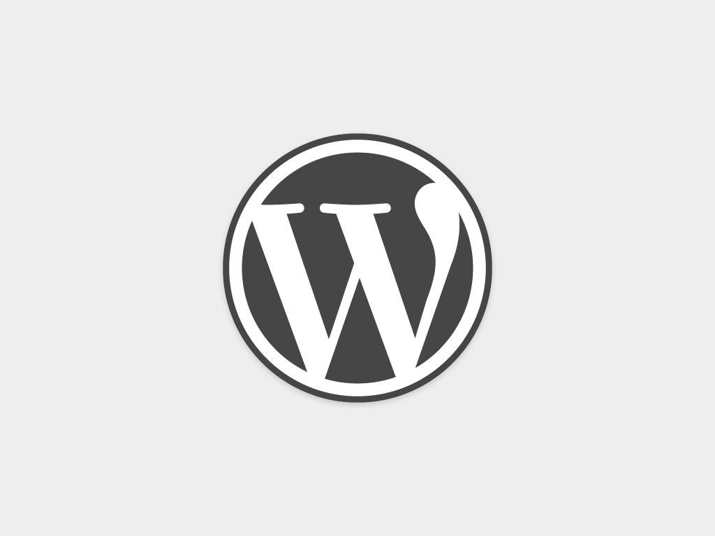logo for wordpress.com
