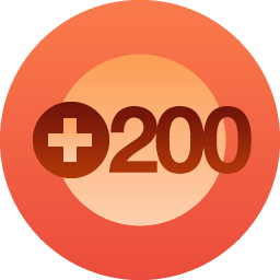 200 Volgers!