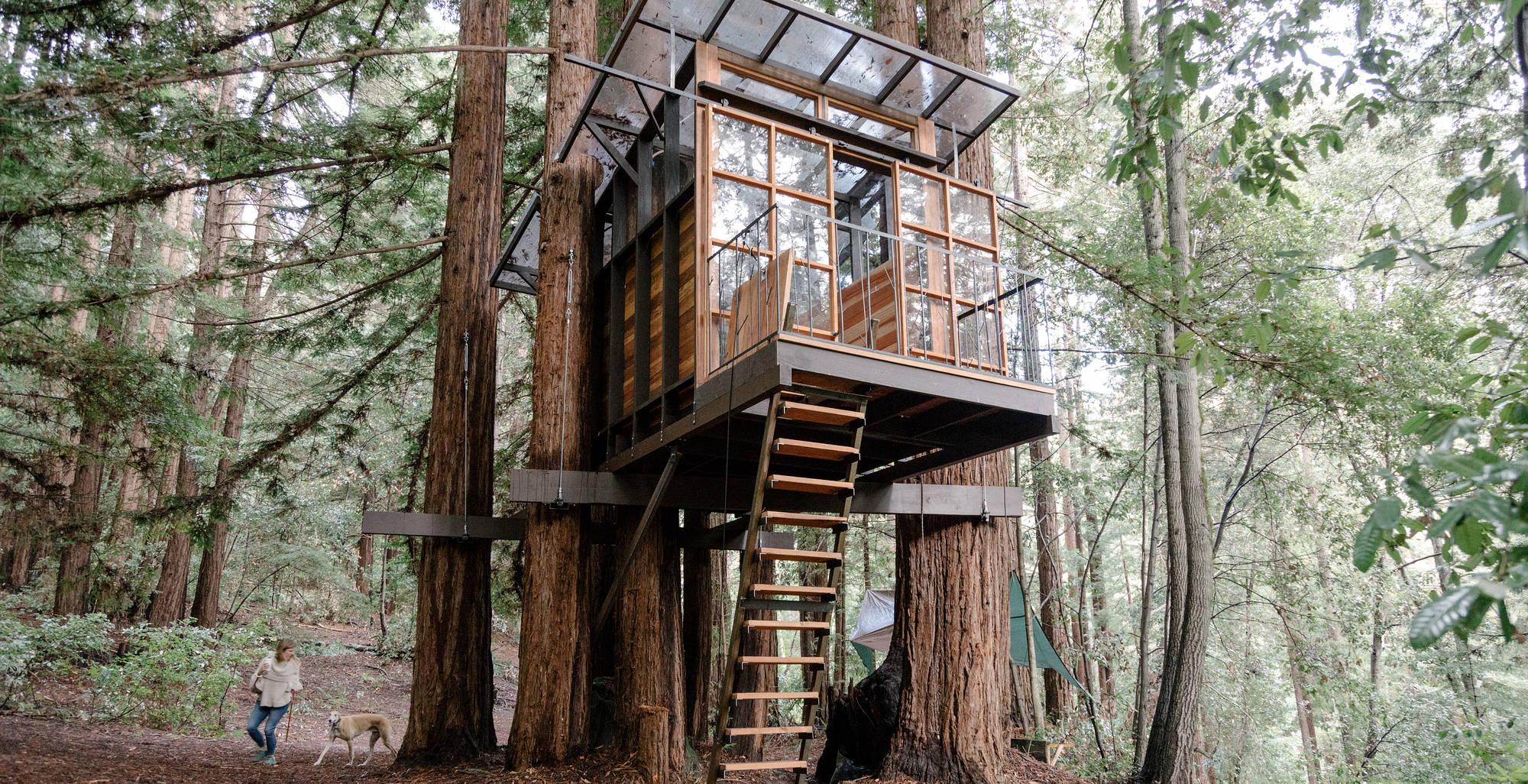 Tree Houses For Grown Ups Wsj