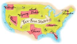 [Map of tax free states]