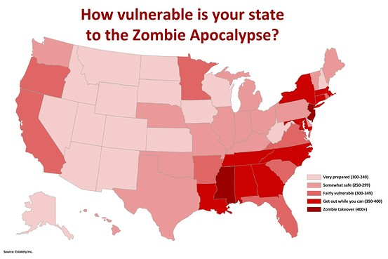 zombie real Estately survival map | zombielaw on
