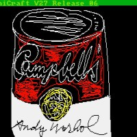Newly-discovered Computer Generated Art By Andy Warhol