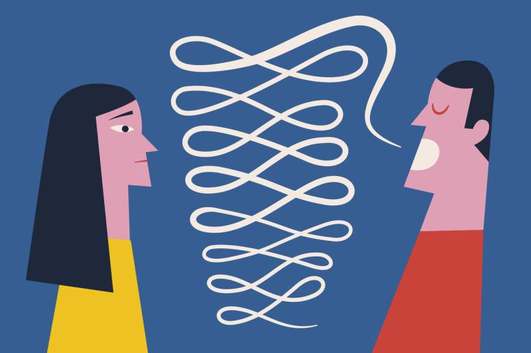 Save Yourself From Tedious Small Talk - WSJ